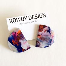 ROWDY PAINT SERIES studs | The Halfsies Stud