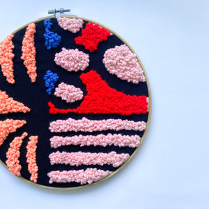 EMBROIDERY HOOP ART | LARGE