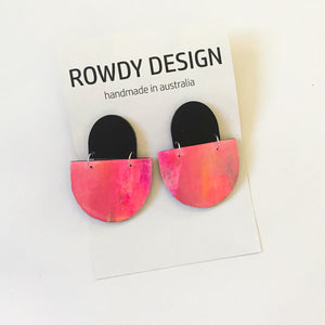 ROWDY PAINT SERIES dangles