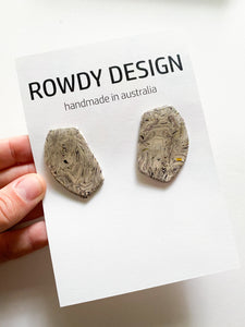 STATIC Art Statement Stud Earrings | Small