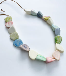 Shark Tooth Resin Necklace