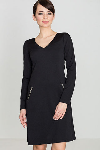 Stylish Zip Pockets Dress - FashionPriceKilla