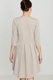 Elegant Asymmetric Dress - FashionPriceKilla