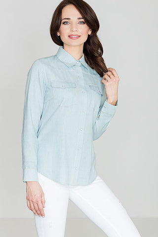 Classic Cotton Snap Shirt - FashionPriceKilla