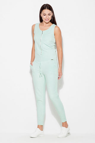 Women's Jumpsuit With Zipper - FashionPriceKilla