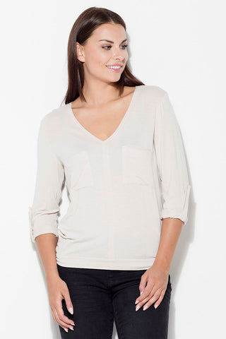 V-Neck Blouse - FashionPriceKilla