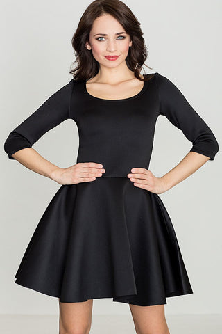 Dress With Flared Down - FashionPriceKilla