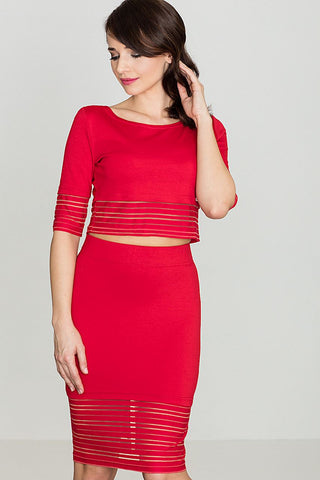 Pencil Skirt and Top Set - FashionPriceKilla