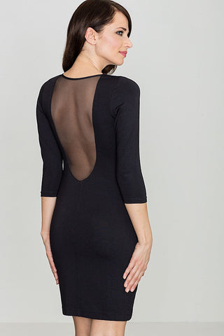 Open Back Bodycon Dress - FashionPriceKilla