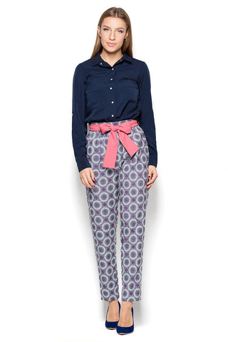 High Waist Traparet Trousers - FashionPriceKilla