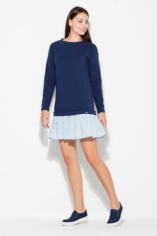 Long Sleeve Day Mini Dress - FashionPriceKilla