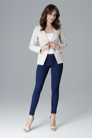 Deep V Neck Jacket - FashionPriceKilla