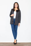 Collarless Blazer - FashionPriceKilla