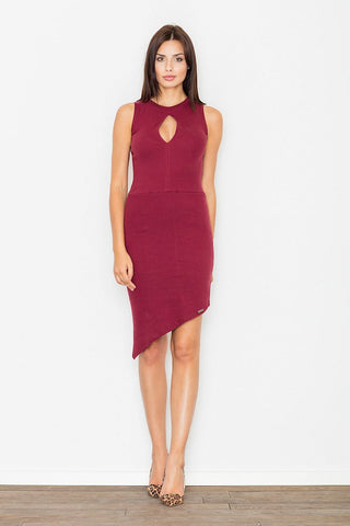 Asymmetric Midi Dress - FashionPriceKilla