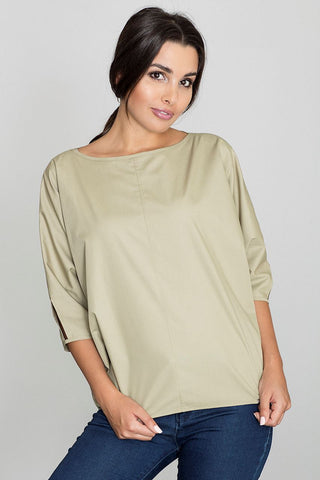 Oversized 3/4 Top - FashionPriceKilla