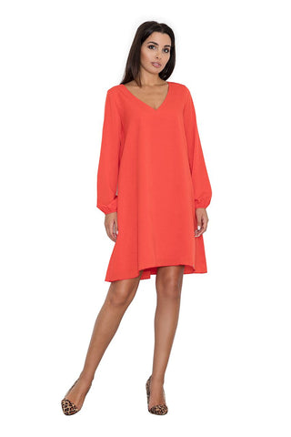 V Necked Tent Dress
