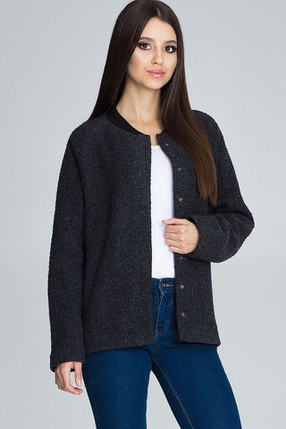 Collarless Raglan Jacket - FashionPriceKilla
