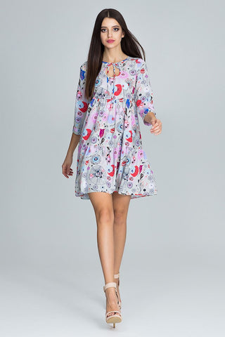 Oversized Tent Dress 3/4 Sleeve - FashionPriceKilla