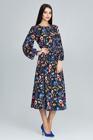 Flourish Long Sleeve Maxi Dress - FashionPriceKilla