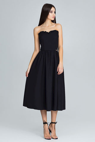 Strapless Skater Dress - FashionPriceKilla