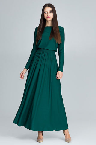 Long Sleeve Stylish Maxi Dress - FashionPriceKilla