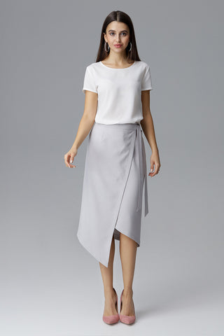 Asymmetric Wrap Skirts - FashionPriceKilla