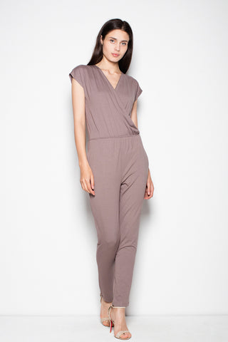 V Neck Jumpsuit - FashionPriceKilla