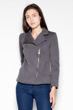 Asymmetric Zip Jacket - FashionPriceKilla
