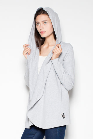 Hooded Waterfall Sweater - FashionPriceKilla