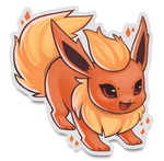 "Eeveelutions 3"" Stickers"