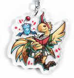 "Summoner Chocobo 2"" Charm"
