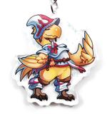 "Whitemage Chocobo 2"" Charm"