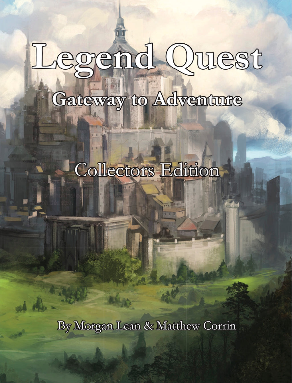 Legend Quest: Collector's Edition Hardcover Book