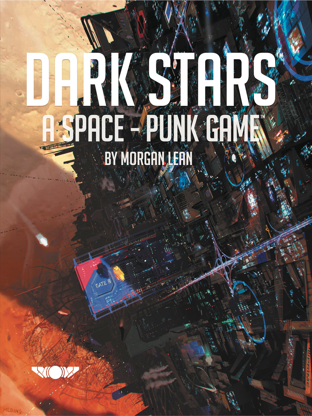 Dark Stars Hardcover Book