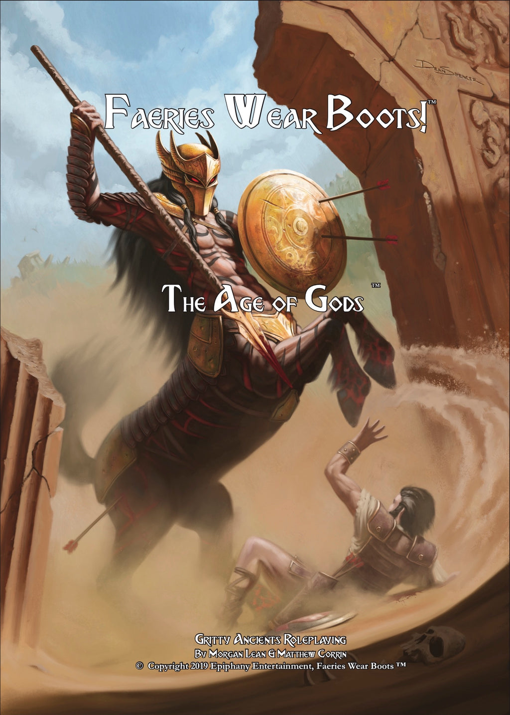 Faeries Wear Boots: The Age of Gods Hardcover Book