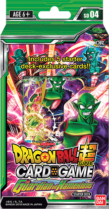 Dragon Ball Super TCG Colossal Warfare: The Guardian of Namekians Starter Deck 04