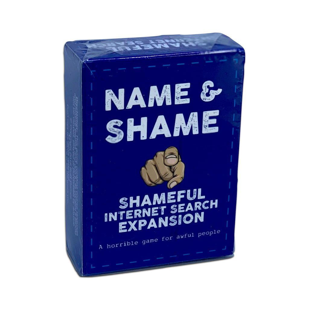 Name and Shame Shameful Internet Search Expansion
