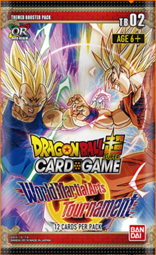 Dragon Ball Super TCG World Martial Arts Tournament Themed Booster Box 02