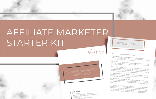 Affiliate Marketer Starter Kit