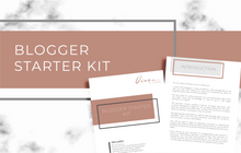 Load image into Gallery viewer, Blogger Starter Kit