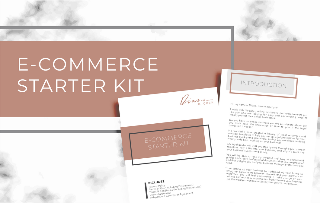 E-Commerce Starter Kit