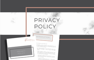 Privacy Policy (GDPR Compliant)