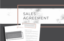 Load image into Gallery viewer, Sales Agreement