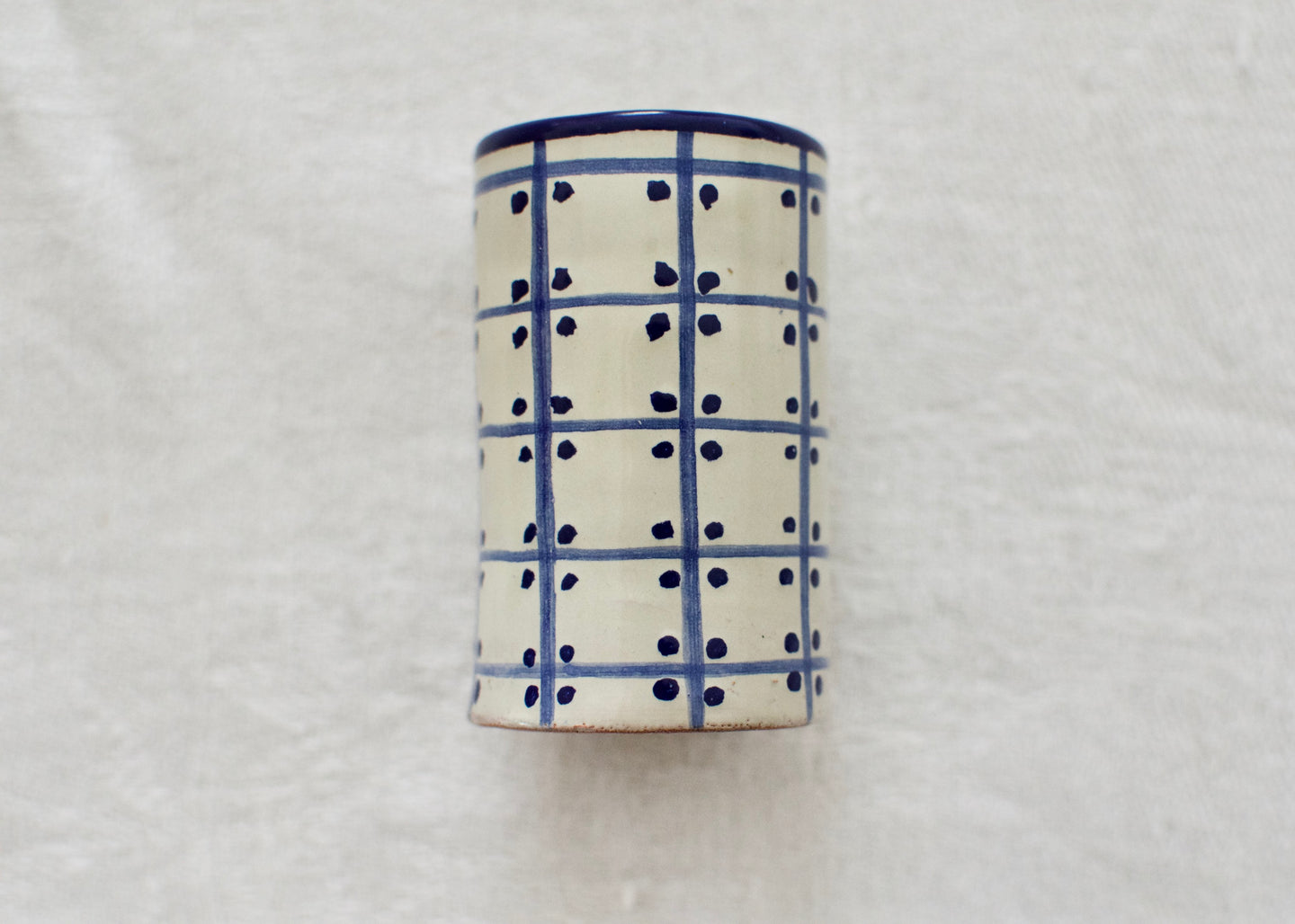 Talavera Tequilero Azul - Small shot glass