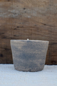 Beeswax Candle in Clay