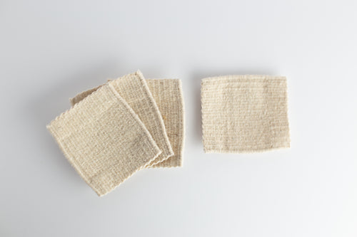 Hand Loomed Wool Coasters