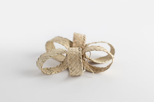 Palm Woven Napkin Rings