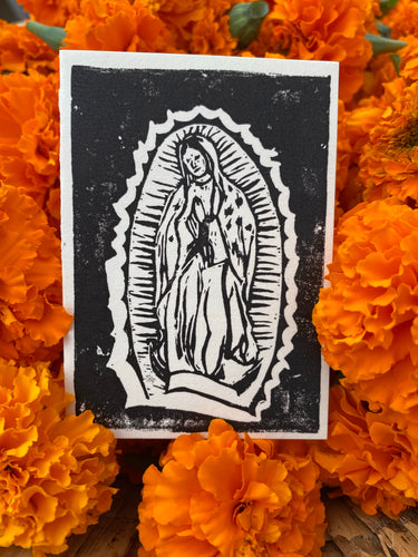 Virgin de Guadalupe Card