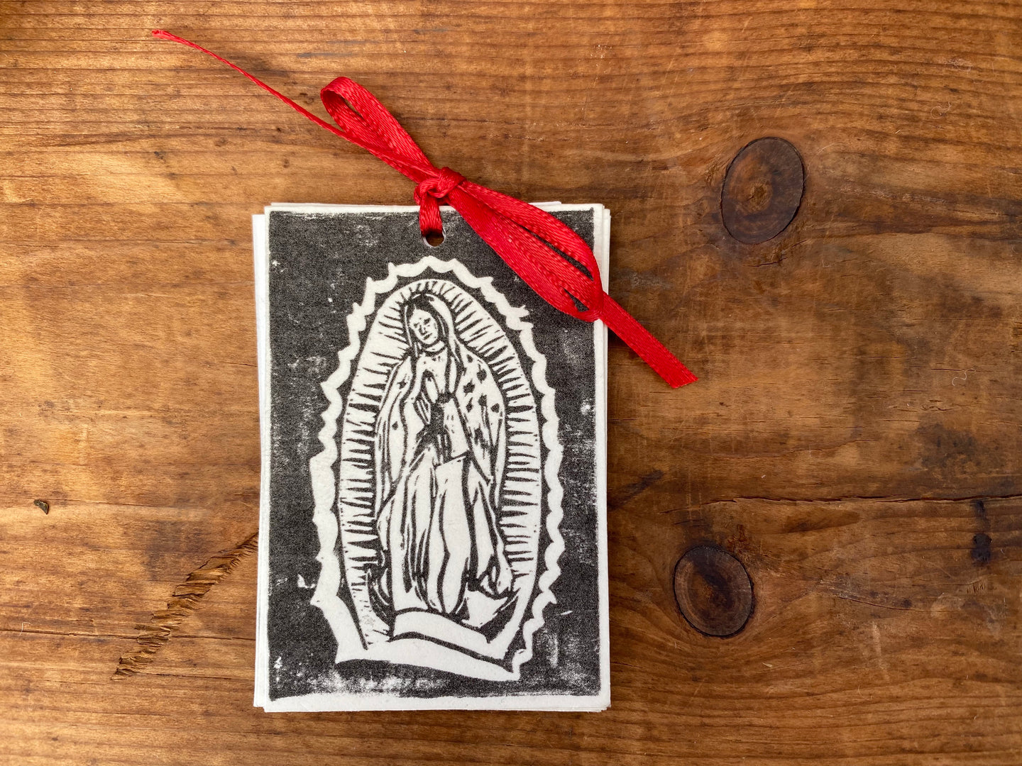Christmas Tags- Virgin de Guadalupe