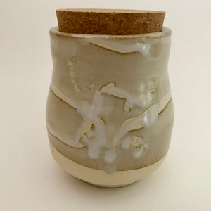 Light Stone Jar
